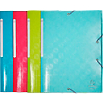 Chemise 3 rabats Exacompta 1928 A4 Coloris aléatoire 6 Unités