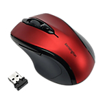 Souris Sans fil Optique Kensington Pro Fit® Wi Fi Rouge