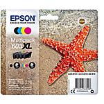 Cartouche jet d'encre 603XL D'origine Epson C13T03A64020 Noir, Cyan, Magenta, Jaune 4 Unités