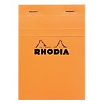 Bloc de bureau petits carreaux 80 feuilles Rhodia A6