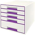 Bloc de classement Leitz 287 x 270 x 363 mm Blanc, violet