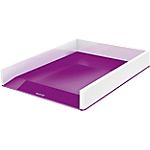 Corbeille à courrier 1 Compartiment Leitz 254 x 350 x 61 mm Blanc, Violet