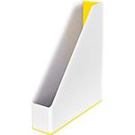 Porte revues Leitz 72 x 256 x 260 mm Blanc, Jaune