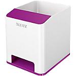 Pot à crayons Leitz 90 x 100 x 101 mm Blanc, Violet