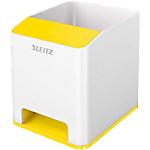 Pot à crayons Leitz 90 x 100 x 101 mm Blanc, Jaune