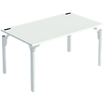Bureau droit 4You 1 600 x 800 x 720 mm Blanc