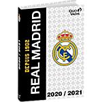 Agenda Quo Vadis Real Madrid 12 x 17 cm 1 Jour par page 2020, 2021