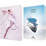 Agenda étudiant Oberthur Danseuse 12 x 17 cm 1 Jour par page 2020, 2021 Assortiment