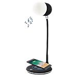 Lampe de bureau chargeur à induction Ampoule connectée Blaupunkt Noir