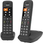 Téléphone fixe Gigaset C575 DUO Sans fil Noir