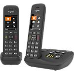 Téléphone fixe Gigaset C575 A DUO Sans fil Oui Noir