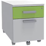 Caisson mobile Adjust 414 x 529 x 560 mm Blanc, vert