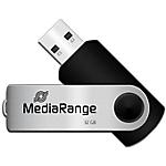 Clé USB MediaRange 32 Noir, gris