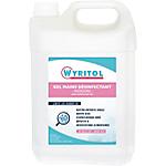Gel hydroalcoolique désinfectant Wyritol Sans Parfum 5 L