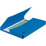 Chemises poche Exacompta CleanSafe A4 Bleu   5 Unités
