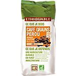 Café grains ETHIQUABLE Pérou   1 kg