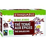 Thé Tchai aux épices ETHIQUABLE