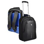 Sac à dos & trolley 2 en 1 pour ordinateur PORT Designs Chicago Evo Noir, bleu