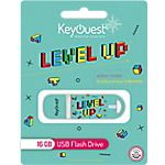 Clé USB KeyOuest Collection Gaming 16 Go Level up