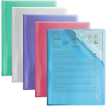 Protège documents OXFORD 2ND LIFE PP 40 A4 Coloris aléatoire