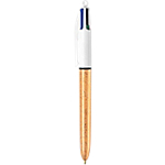 Stylo à bille BIC 4 couleurs 0.32 mm Assortiment