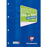 Bloc de cours Clairefontaine A4 Bleu 150 Feuilles