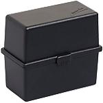 Boîte portative Exacompta Memo Box DIN 8,8 x 4,9 x 7,7 cm Noir