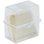 Boîte portative Exacompta 8,8 x 4,9 x 7,7 cm Cristal