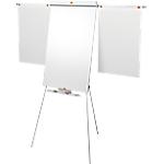 Chevalet à trépied avec bras d'affichage Acier laqué Trépied Nobo Nano Clean 68,5 x 185 cm