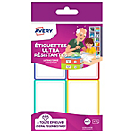 Étiquettes Avery A6 Assortiment 44 x 64 mm