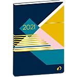 Agenda semainier Quo Vadis Le semainier à l'horizontale ! 1 Semaine sur 2 pages 2020, 2021 Jaune