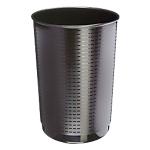 Corbeille à papier Polypropylene CEP 40 49,5 cm Noir