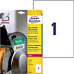 Étiquettes ultra résistantes AVERY Zweckform L7917 10 A4 Blanc 210 x 297 mm 10 Feuilles de 1 Étiquettes