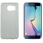 Coque silicone OMENEX Samsung Galaxy S6 Edge Blanc