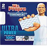 Eponge Mr. Propre Gomme Magique Ultra Power   2 Unités