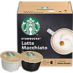 Capsules de café Latte Macchiato Starbucks   12 Unités