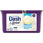 Lessive en capsules Dash All in 1 Pods Caresse Peaux Sensibles   33 Unités