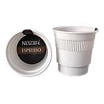 Gobelets pré dosés Espresso noir Nescafé   20 Unités