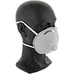 Masques de protection avec valve FFP3 Blanc   5 Unités