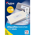 Étiquettes multi usage APLI Agipa A4 Blanc 33,9 x 63,5 mm 2400 Unités