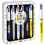 Stylos bille BIC Messages Assortiment   6 Unités