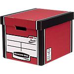 Boîte de rangement Fellowes Bankers Box Premium Presto Rouge 34,2 x 40 x 30,3 cm 10 Unités
