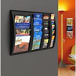 Présentoir mural Paperflow Quick Fit A4+ Noir