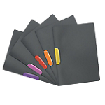 Chemises à clip DURABLE Duraswing Color 22 x 31 cm Assortiment 5 Unités