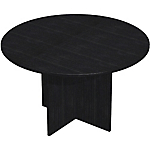 Table de réunion Easy Select 1 200 x 740 mm Imitation frêne noir