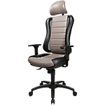 Fauteuil de bureau Mécanisme synchrone TOPSTAR Head Point RS Noir, marron