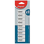 Gomme Maped Maped Blanc   9 Unités