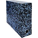 Boîte d'archivage Exacompta Annonay 34 x 9 x 25,5 cm Bleu