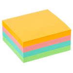 Cube de notes repositionnables   Office DEPOT   76 x76 mm   coloris pastel