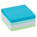 Cube de notes adhésives Office Depot 76 x 76 mm Assortiment   400 Feuilles